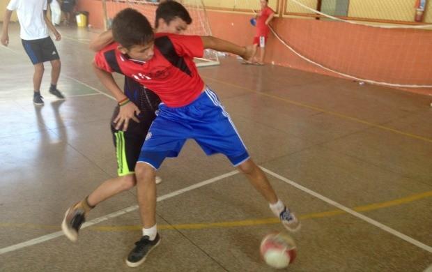Futsal foi a modalidade mais procurada na Ação Global no Amapá de 2015 (Foto: Rafael Moreira/GE-AP)