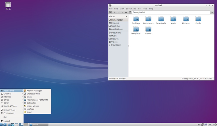 Lubuntu é levinho, feito para pesar pouco no PC e ser amigável com computadores menos potentes (Foto: Divulgação/Lubuntu)