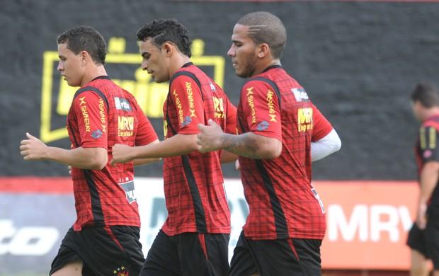 Jael - Naldinho - Sport (Foto: Aldo Carneiro/Pernambuco Press)