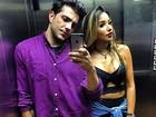 Ex-BBBs Junior Gianetti e Talita Araújo curtem juntos a noite carioca