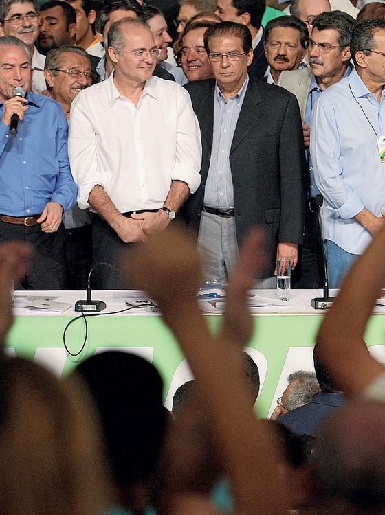 Os senadores Renan Calheiros e Járder Barbalho.Delatores afirmam que Jorge Luz repasava propina a eles (Foto: CELSO JUNIOR/ESTADÃO CONTEÚDO)