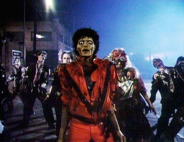 O cantor Michae Jackson no clipe de Thriller (Foto: Reprodução)
