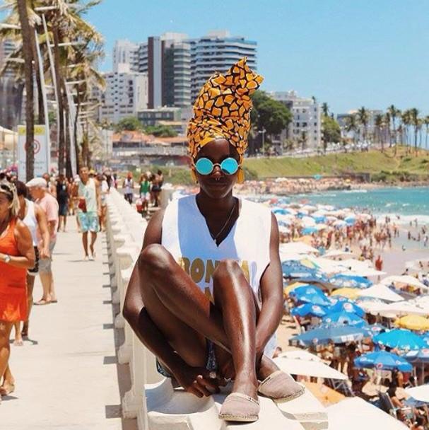Cuidados com as box braids no verão (Foto: Reprodução Instagram)