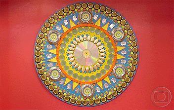 Mandala promete atrair boas energias (Foto: Mais Você/ TV Globo)