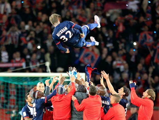 Beckham PSG Brest (Foto: AP)