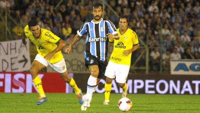 Douglas, Grêmio x Ypiranga (Foto: Edson Castro / Ag. Estado)