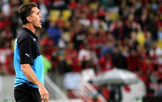 Vagner Mancini jogo Flamengo x Botafogo (Foto: Vitor Silva / SS Press)