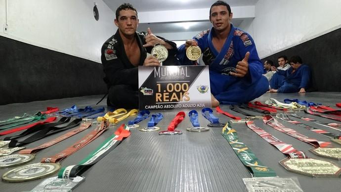 Lutador Caruaru jiu-jitsu (Foto: Vital Florêncio / GloboEsporte.com)