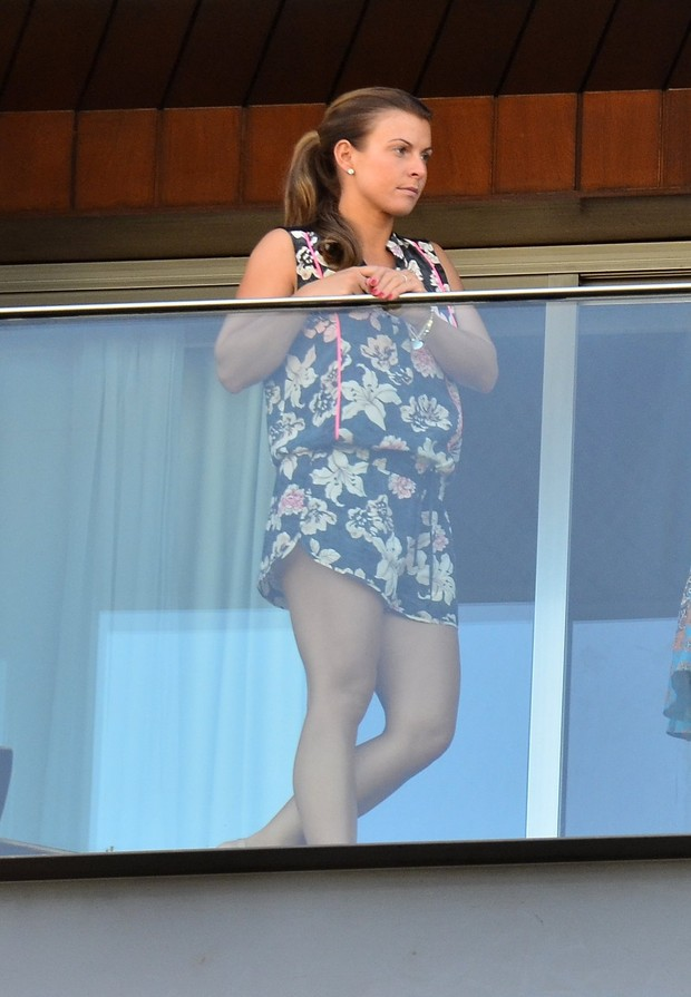 Collen Ronney, mulher do jogador Wayne Rooney  (Foto: Delson Silva / Agnews)