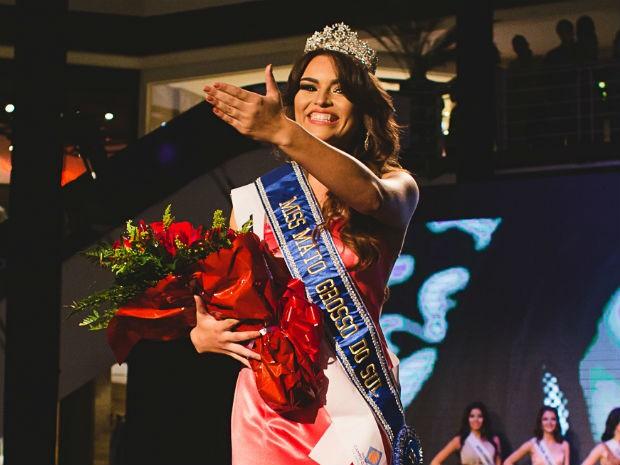 Érika Moura vai representar o estado no Miss Brasil, que será realizado em setembro (Foto: Divulgação/Alexis Prappas)