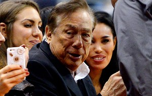 donald sterling, dono do Los Angeles Clippers (Foto: Agência AP)