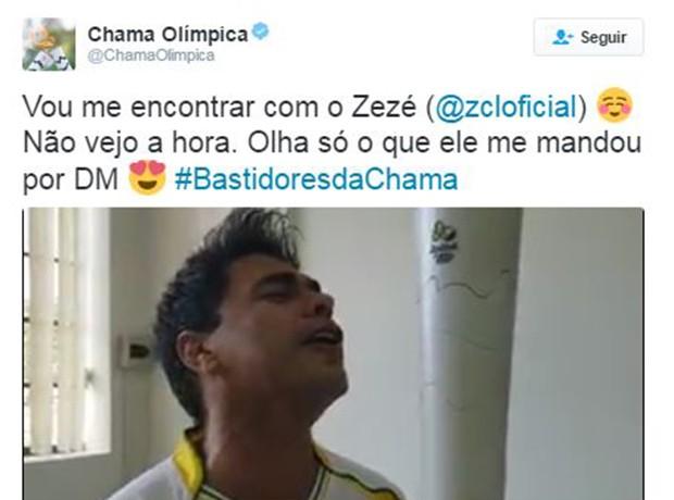 Famosos que já carregaram a tocha olímpica (Foto: Reprodução / Twitter)