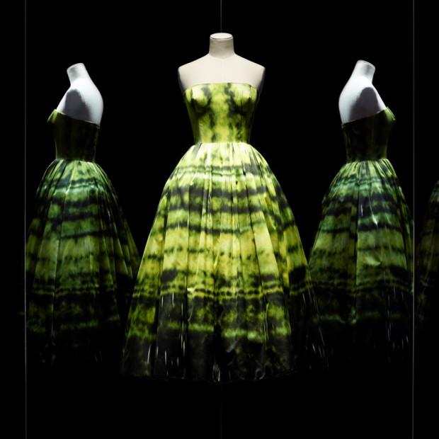 Dress by Raf Simons for Christian Dior, haute couture fall-winter 2012 (Foto: Reprodução)