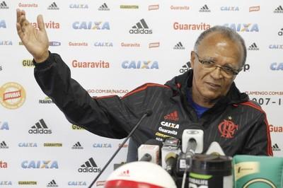 Jayme de Almeida coletiva Flamengo (Foto: Gilvan de Souza/Flamengo)