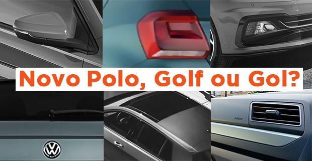 Quiz: Novo Polo, Golf ou Gol? (Foto: Autoesporte)