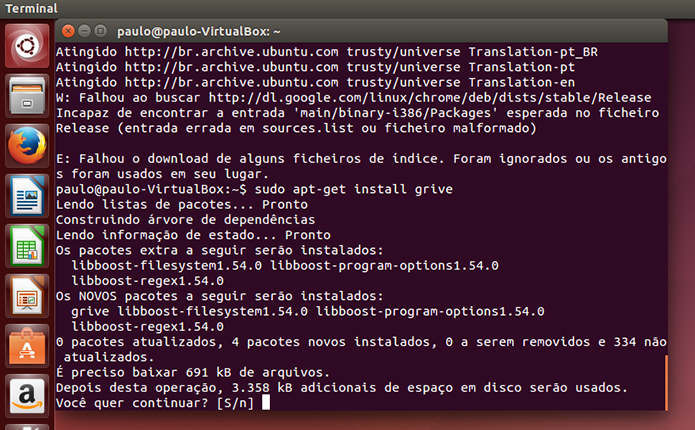 Como instalar o Grive Tools e usar o Google Drive no Ubuntu | Dicas