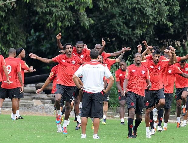 Treino Físico do Flamengo (Foto: Alexandre Vidal / Fla Imagem)