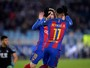 """Neymar defende estilo do Barcelona e diz: """"Messi merece a Bola de Ouro"""""""