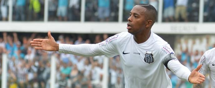 Robinho Santos Sport (Foto: LUCAS BAPTISTA/FUTURA PRESS/ESTADÃO CONTEÚDO)