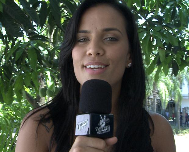 """Ju Moraes elege a música """"Agora só falta você"""" de Rita Lee (Foto: The Voice/ TV Globo)"""