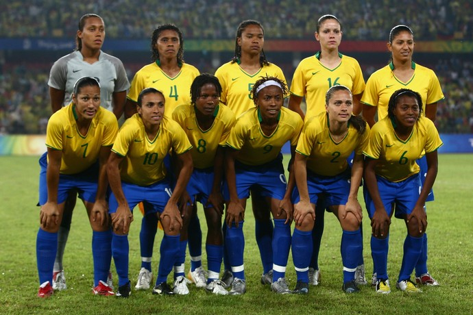 Selecao feminina olimpica 2008 (Foto: Getty Images)