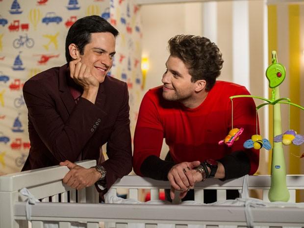Félix e Niko se dão cada vez melhor (Foto: Estevam Avellar/TV Globo)