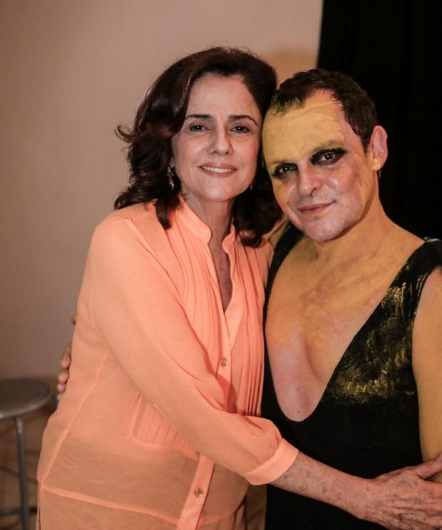 Matheus Nachtergaele e Marieta Severo (Foto: Francisco Silva/AgNews)