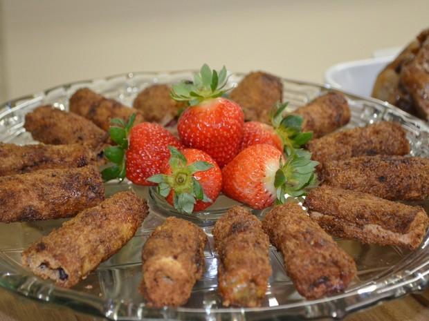 Evento com pratos saudáveis atraiu várias pessoas em Vilhena (Foto: Dennis Weber/ G1)