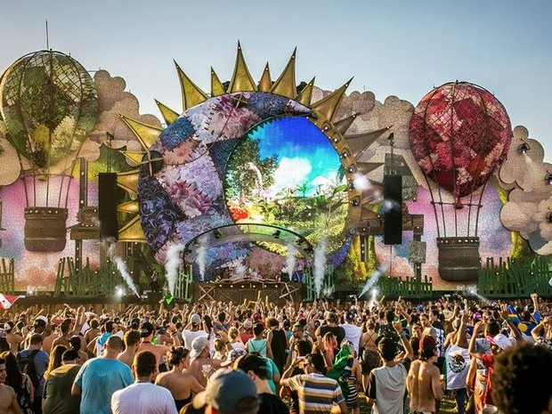 Tomorrowland, festival de música eletrônica que teve segunda edição brasileira neste ano (Foto: Divulgação / Página oficial do evento no Facebook)