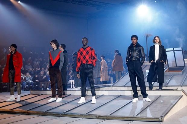 Lanvin foi um dos destaques da semana de moda em Paris  (Foto: Getty Images)