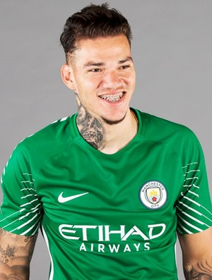 Ederson Manchester City (Foto: Divulgação/Site oficial do City)