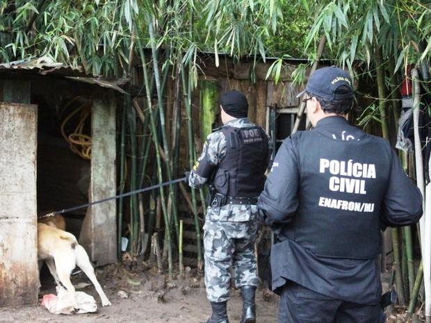 Policiais cumpriram mandados na Fronteira Oeste, na capital e Região Metropolitana (Foto: Divulgação/Polícia Civil)