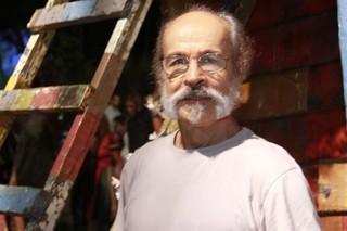 Osmar Prado na Coletiva de Meu Pedacinho de Chão (Foto: Isac Luz / EGO)