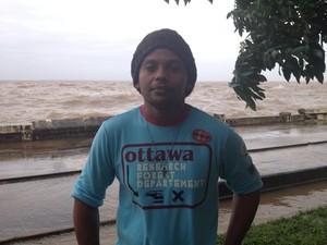 Tiago Pofílio, de 30 anos (Foto: Dyepeson Martins/G1)