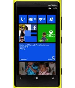 Nokia apresentou o novo Lumia 920, com o sistema Windows Phone 8 (Foto: Reprodução)