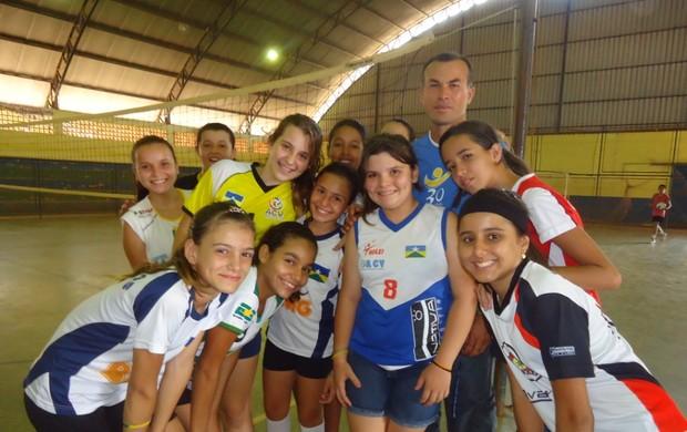 Vanessa treina há seis meses na ACV (Foto: Rildo Costo/Divulgação)