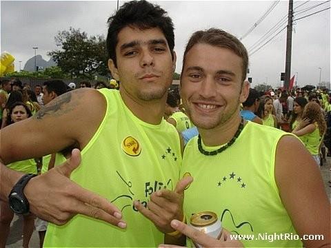 Diego Grossi, novo participante do BBB14, em foto antiga (Foto: Reprodução / Orkut)