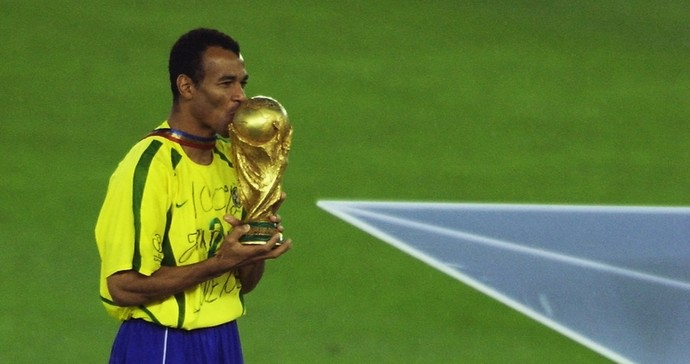 Cafu Copa do Mundo 2002 (Foto: Getty Images)
