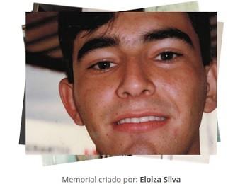 Perfil de Jorge de Araújo Ferreira, criado pela irmã e biomédica Eloiza Helena (Foto: Memorial Online/Reprodução)