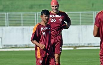 Após 2º jogo no Boa Esporte, Kaio Cristian ganha confiança do técnico