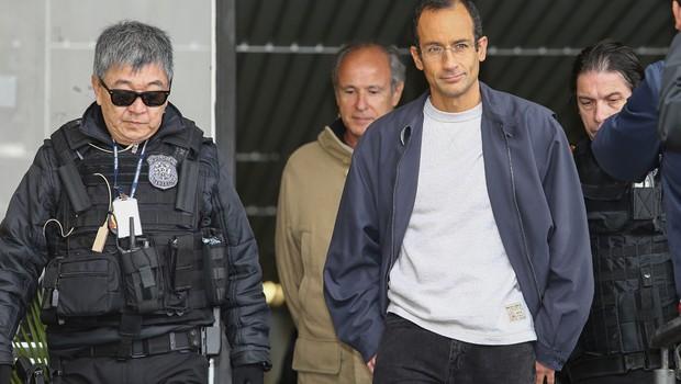 Executivo se escondeu na casa de Odebrecht durante buscas, diz PF