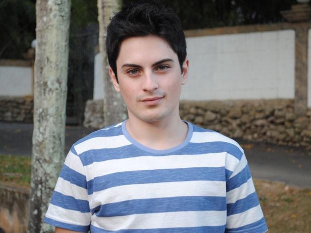 Rodolfo Valente, o Rafael, interpretou o Pedrinho em 'Sítio do Pica Pau Amarelo (Foto: Malhação / Tv Globo)