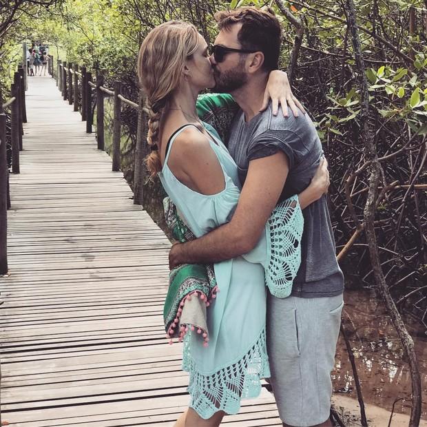 Carol Trentini e o amado, Fabio Bartelt (Foto: Reprodução/Instagram)