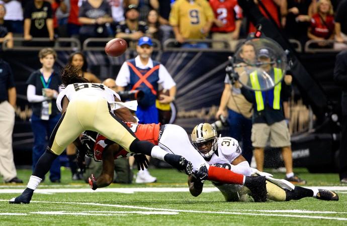 New Orleans Saints x Atlanta Falcons NFL (Foto: Reuters)