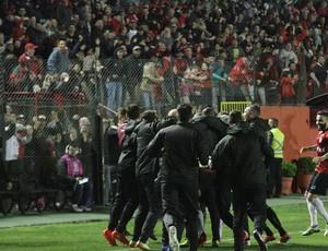 Brasil de Pelotas Brasil-RS comemoração gol torcida Série B
