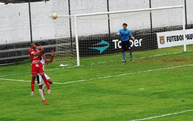 São Vicente x América-SP (Foto: Lincoln Chaves)