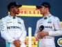 """Após carta da Mercedes, Lewis pede a fãs que respeitem time: """"Minha família"""""""