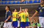 Brasil goleia Equador, segue 100% e fica muito perto do Mundial (Luis Domingues/CBFS)