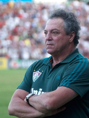 Abel Braga Fluminense x Sport (Foto: Hans von Manteuffel / Agência O Globo)