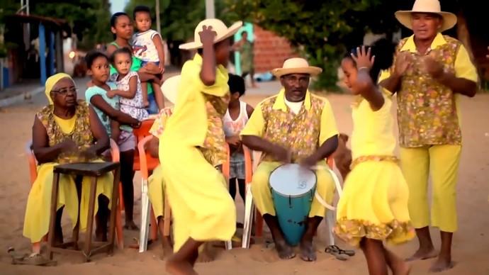 'Vozes do Velho Chico' traz um minidocumentário sobre as sambadeiras (Foto: Divulgação)